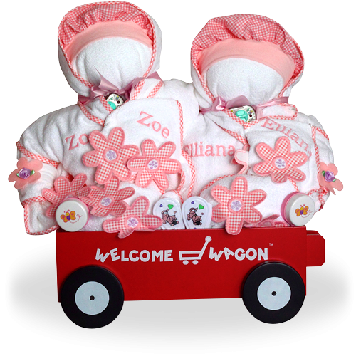 Welcome Home, Girls! Deluxe Wagon for Twins