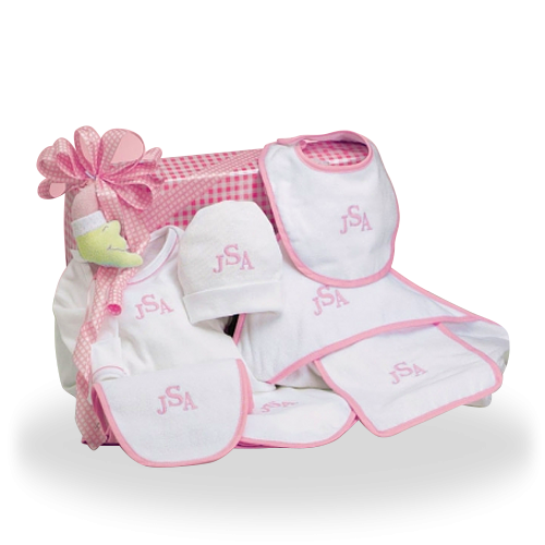 Baby gifts to send usa baby care personalized cotton only baby gift set to send usa negle Image collections
