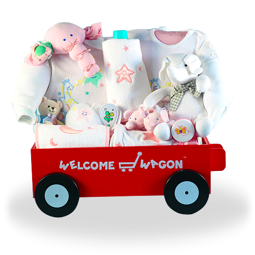 Deluxe Cotton Premium Welcome Wagon for Girls