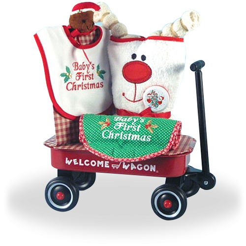 Christmas Magic for the First Time in Baby's Life Welcome Wagon