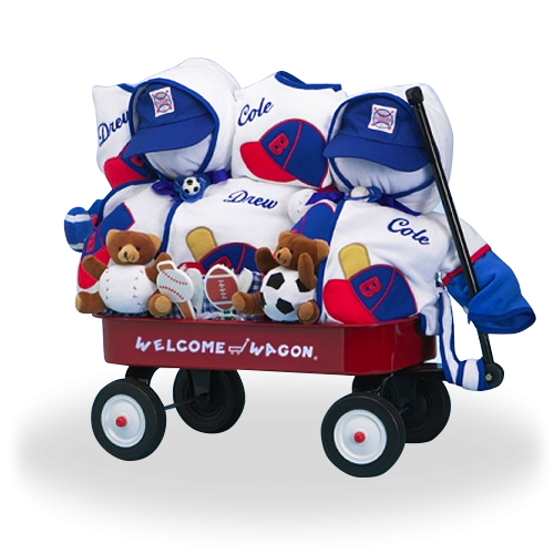 Welcome Home, Boys! Deluxe Wagon for Twins