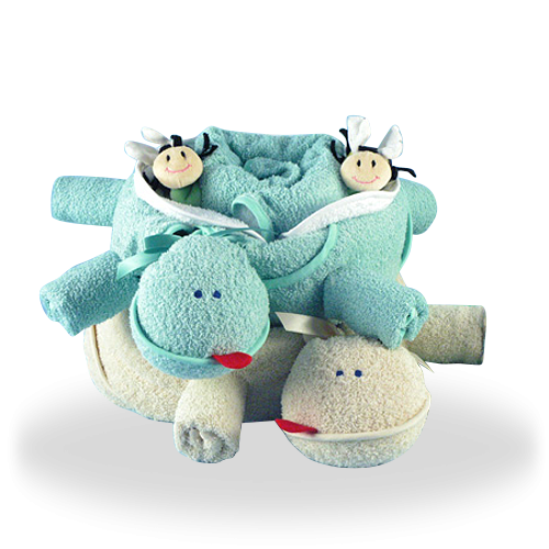 Twin Turtles for Twins Double Gift Set