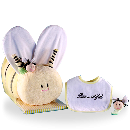 Soft & Cuddly Baby Shower Gift Set