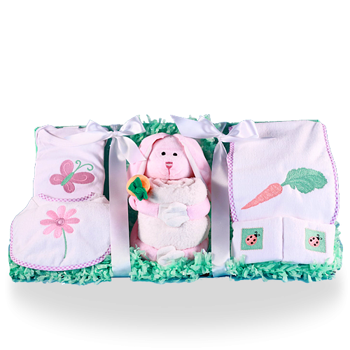 Nature's Best Plush Baby Girl Gift