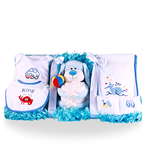 Baby's Best Buddy Puppy Gift Set