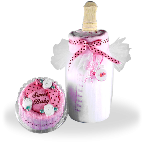 Soft Milk and Cake Baby Gift Set for Girl