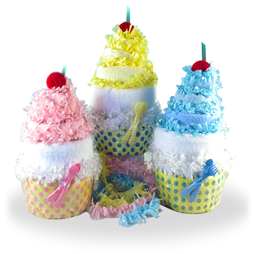 Cutest Diaper Cakes in Your Life Baby Gift