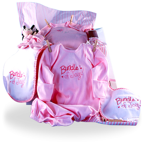 Your Bundle of Joy Baby Girl Shower Gift