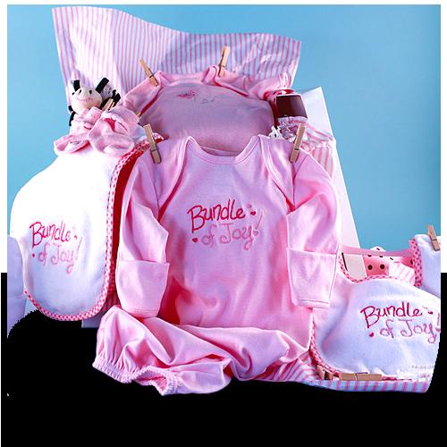 Your Bundle of Joy Baby Girl Shower Gift