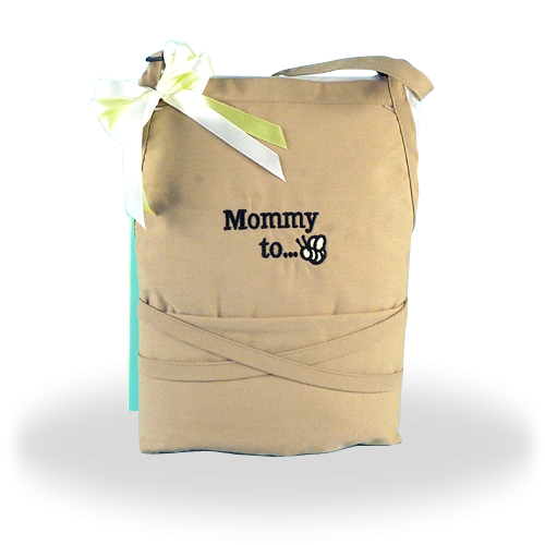Mum-to-Be Apron Shower Gift for Expectant Mother