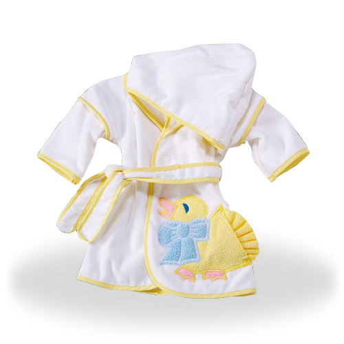 Hooded Cover-Up with Duck Baby Gift for Different Ages