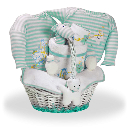 It's a Star Baby Gift Basket