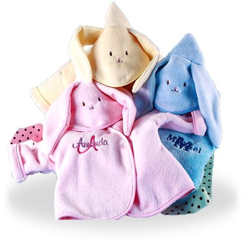 Hooded Bunny Baby Jackets Personalized