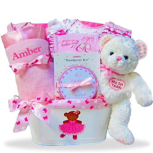 Bears and Ballerinas Gift Basket