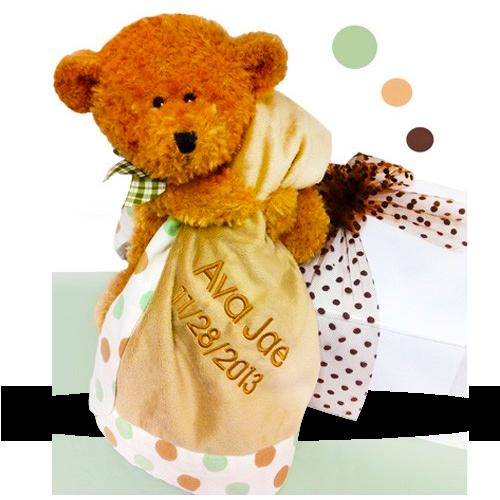 Brown Bear's Blanket Neutral