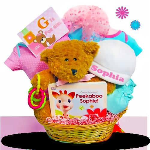 Baby Bear's Welcome Basket/Girl