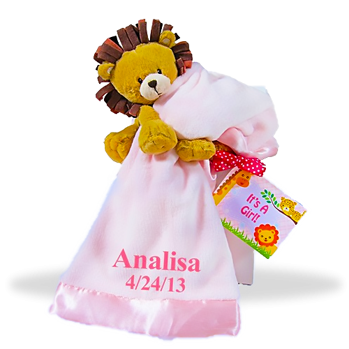 Lovable Lion Gift Set for Girl