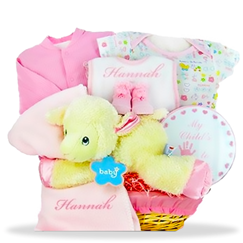 Love My Lambkins Pink Gift Set