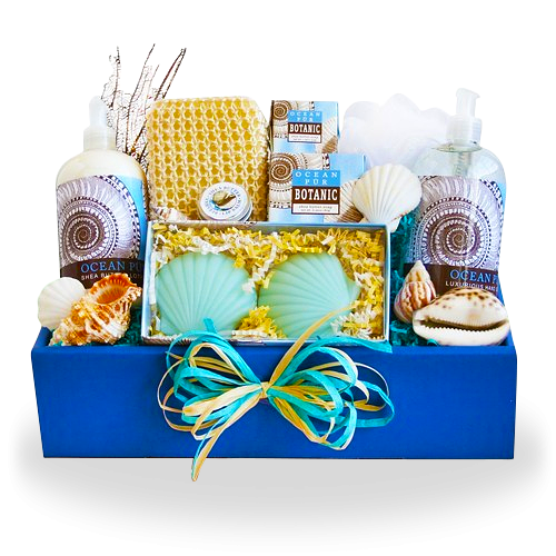 Spa Greetings Relaxing Gift Basket