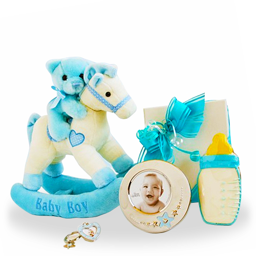 Simply Sweet Rocking Horse Giftbox/Boy
