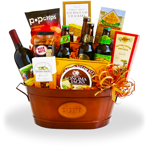 California BBQ Party Gift Basket