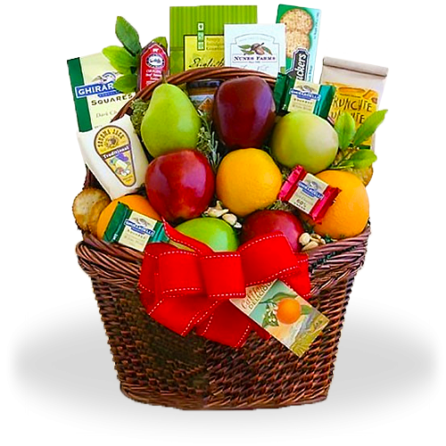 Ultimate Fruitful Greetings Gift Basket