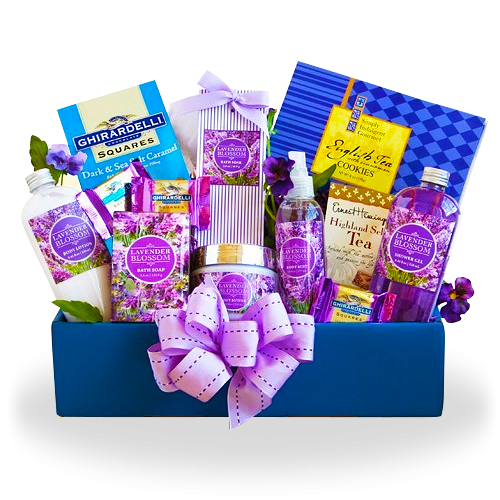 Relax with Lavender Spa Gift Box