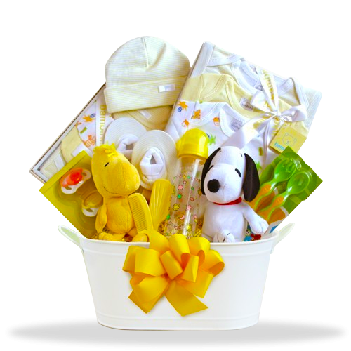Snoopy's Sunshine Basket