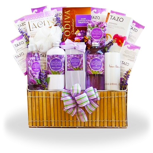 Ultimate Spa Lavender Gift Basket