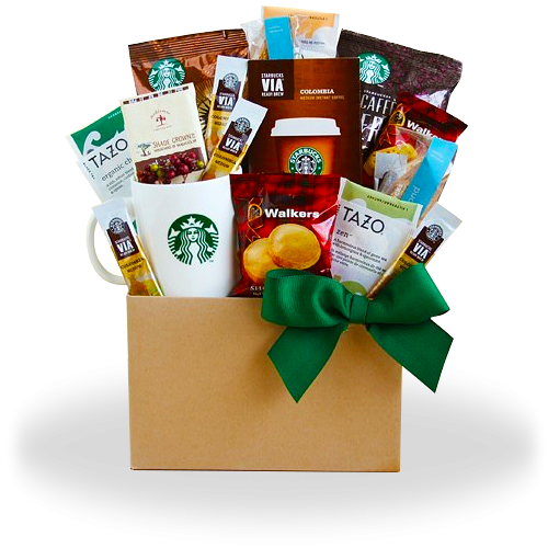 Thank You with Starbucks and Gourmet Treats