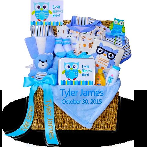 An Adorable Owl Gift Trunk for Boys