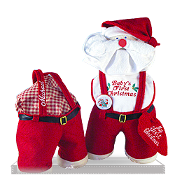 Creative Santa's Baby Personalized Baby Gift Set