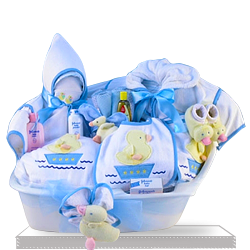 Time for Bath Baby Gift Set for Boy