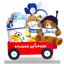 Deluxe Cotton Premium Welcome Wagon for Boys