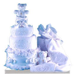 Looking for Baptism Diaper Cake for a Baby Christening
