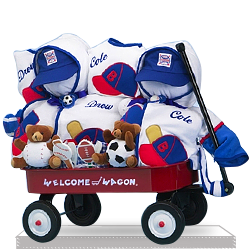 Find Unique Deluxe Wagon for Twins Baby Boys