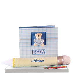Creative Write Down Your Memories Baby Boy Gift Set