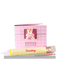 Creative Write Down Your Memories Baby Girl Gift Set