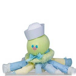 Send Cute Hooded Octopus Gift for Baby Boy