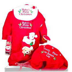 Unique First Christmas Clothing Gift Set for Baby