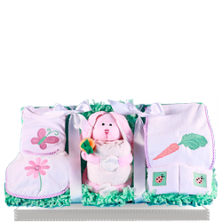 Looking for Nature's Best Plush Baby Girl Gift Baskets