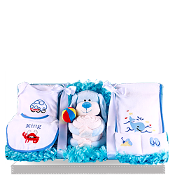 Buy Baby's Buddy Puppy Gift Set for delivery to US
