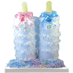 Order Pinata Diaper Cake Bottle Gift Basket