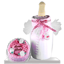 Best Soft Milk and Cake Baby Girl Gift Set