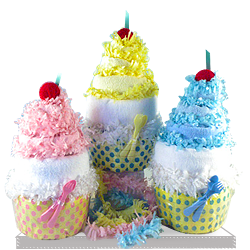 Buy Cutest Diaper Cakes in Your Life Baby Gift Basket