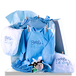 Baby Shower Clothesline Gift for Boys shipping to USA