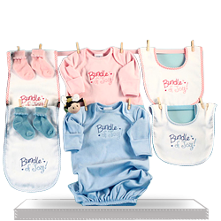 Get Perfect Shower Gift Baby Clothing for Twins