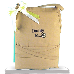 Apron Shower for the Future Dad Gift Basket