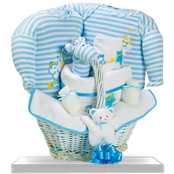 It's a Star Baby Boy Gift Basket US Delivery