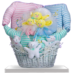 Catch A Star is Shining Triplets Baby Gift Basket